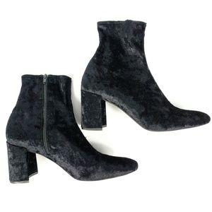 Jeffrey Campbell Booties Size 10 Cienega Black